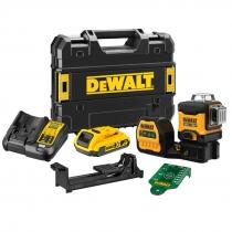 DeWALT DCE089D1G18 AKU Křížový laser - sada