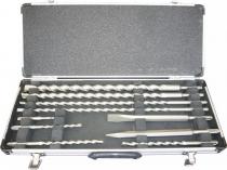 Makita D-21191 10-dílná sada vrtáků a sekáčů SDS+