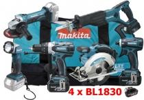 Makita DLX6011 + BL1830