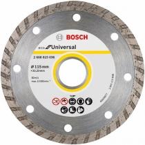 Univerzální diamantový kotouč Bosch Eco for Universal Turbo 115 x 22,23 x 2,0 / 8,0mm