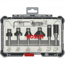 Bosch sada fréz s vřetenem Ø 8 mm 2.607.017.469