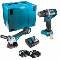 Makita set DGA513ZJ+DDF484Z