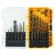 DeWALT DT70728 - 19dílná sada vrtáků do kovu Black&Gold